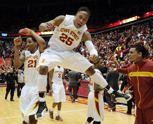 Men S Basketball Will To Win Leads Isu Past No 11 K State Iowa State Iowa State Cyclones Isu Cyclones
