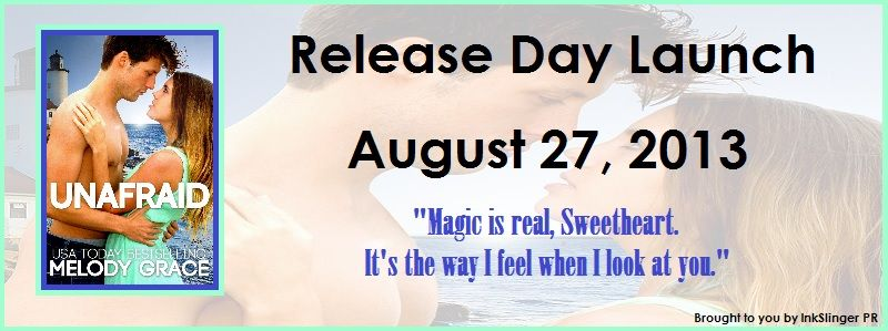 Release Day Launch: Unafraid by Melody Grace (Giveaway) ~ http://bibliophilesthoughtsonbooks.blogspot.com/2013/08/release-day-launch-unafraid-by-melody.html