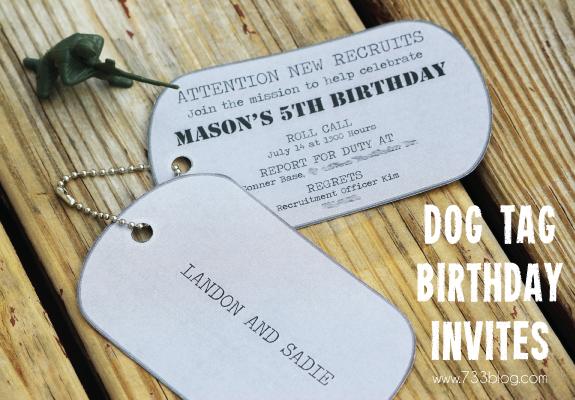 Army Wedding Invitations: DIY & Crafts That I Love