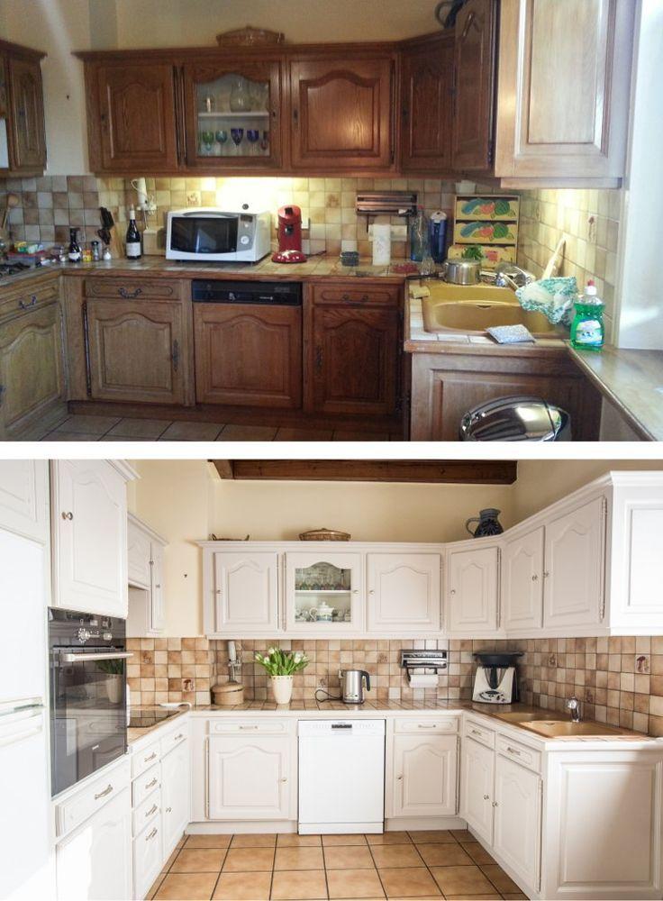 Résultats De Recherche Dimages Pour Peinture Meubles Cuisine - Renovation meuble cuisine pour idees de deco de cuisine