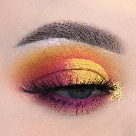 43 Sexy Sunset (Eyes Makeup Idea für Abschlussball und Hochzeit) – #Eyes #Idea #Ma #eyemakeup