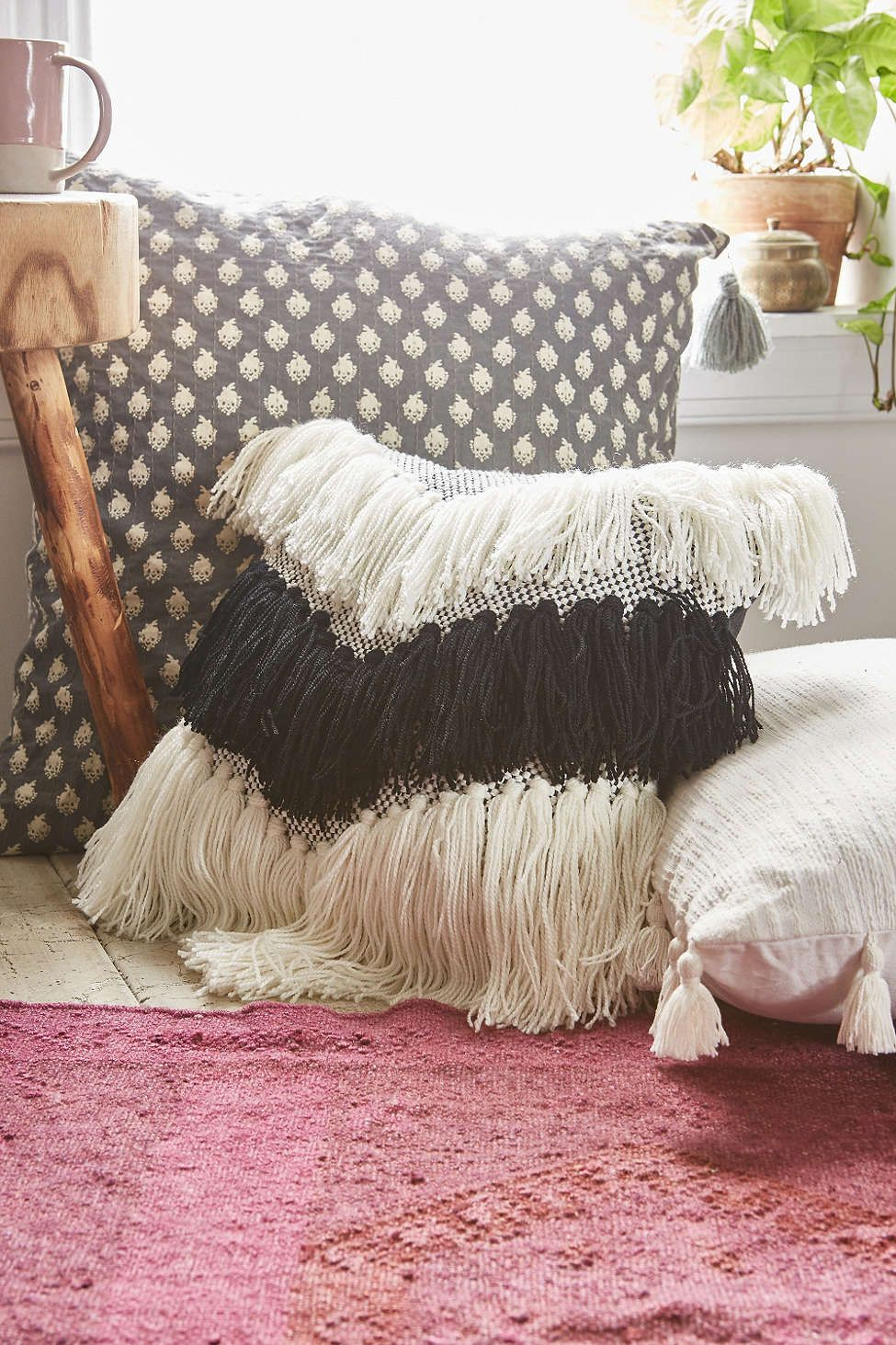 Assembly Home Wilmeth Inky Pillow - Urban Outfitters #UOonCampus