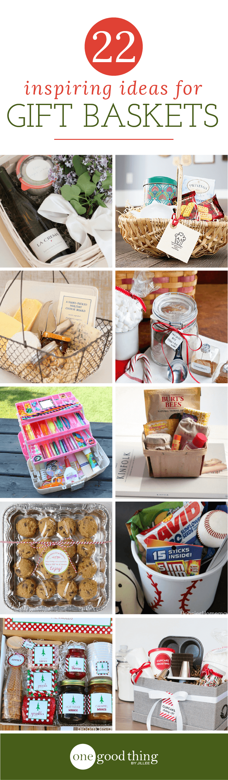 22 Inspiring Gift Basket Ideas That You Can Easily Copy