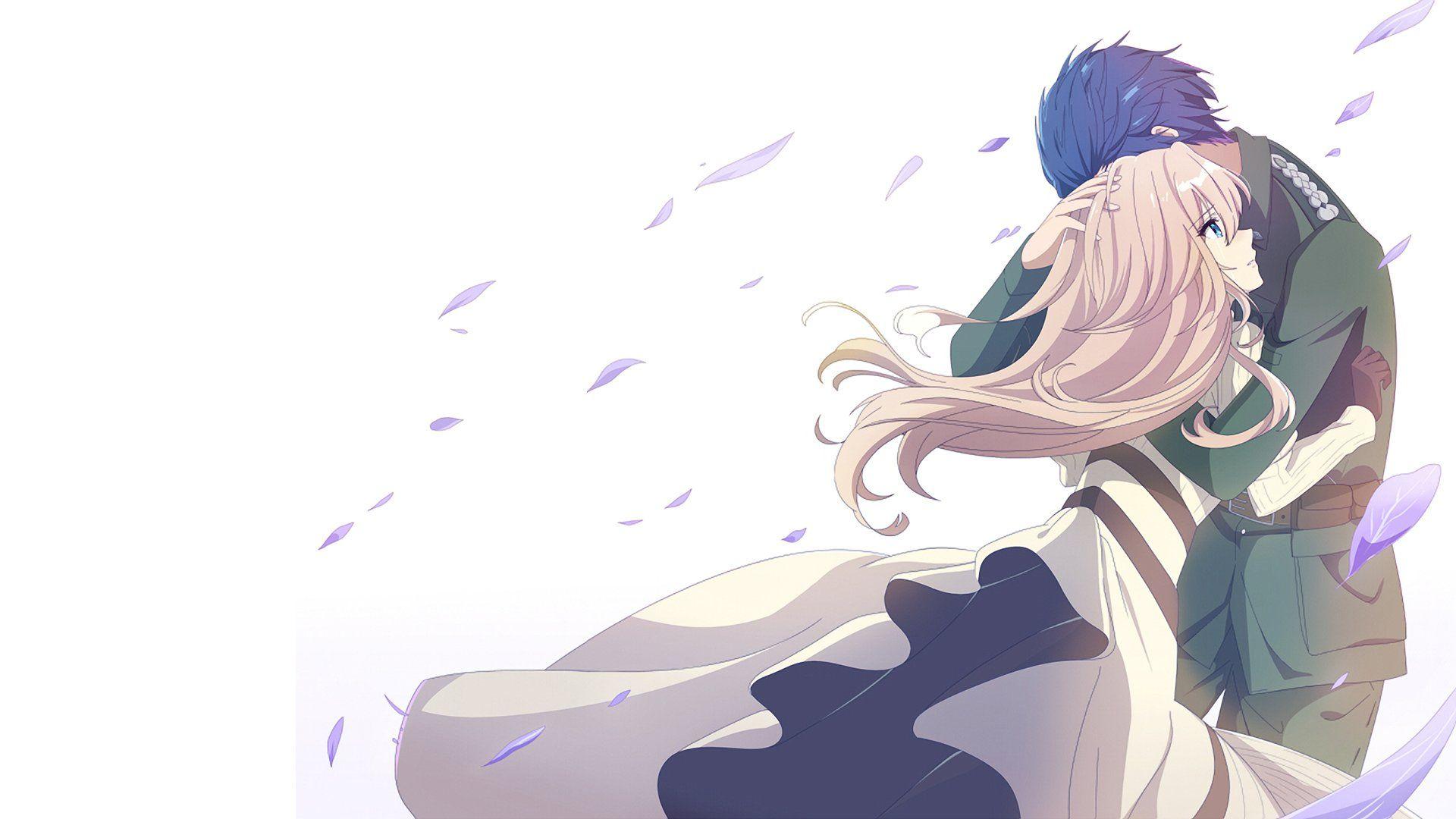 Anime violet evergarden violet evergarden character