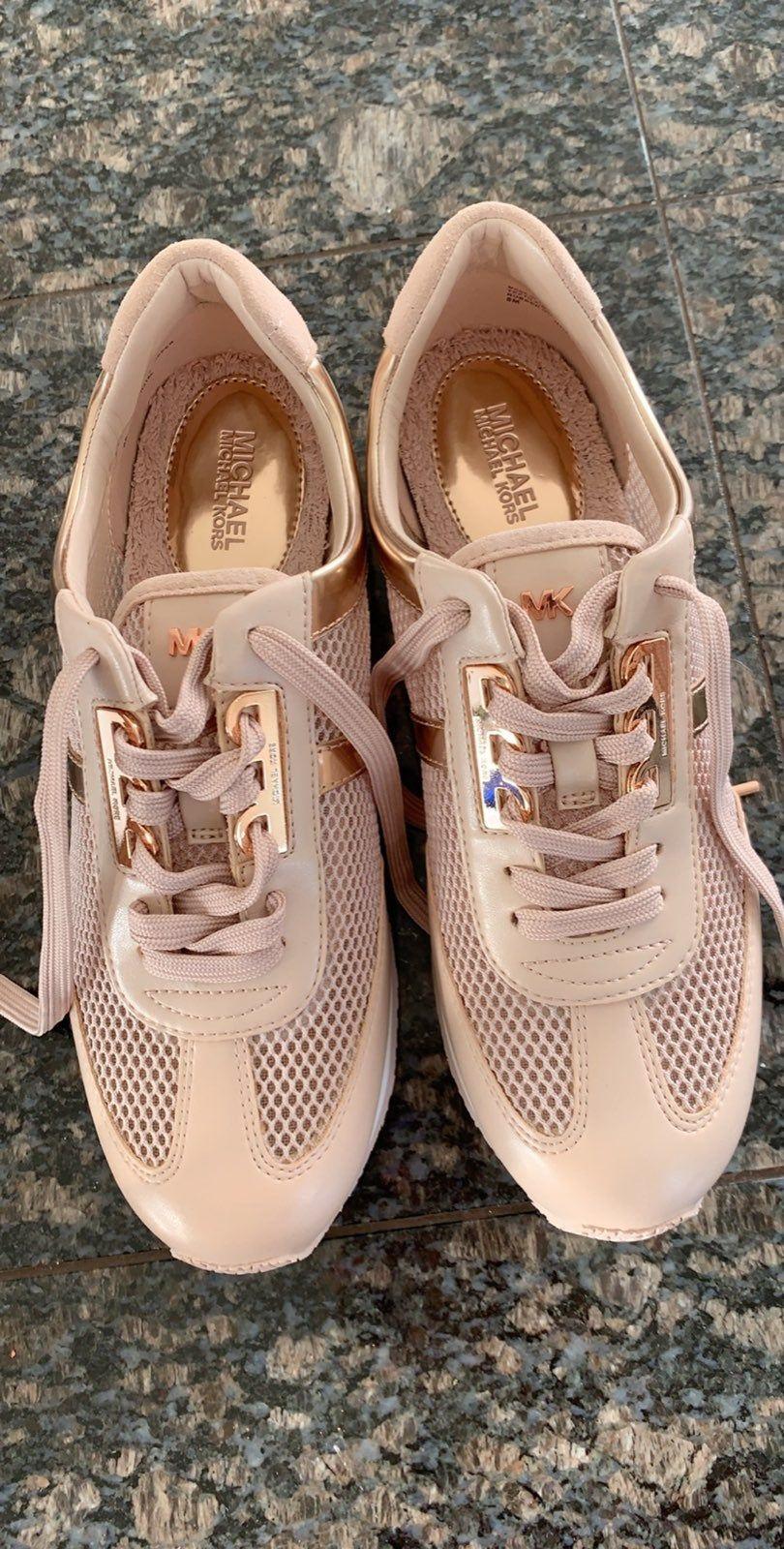 Muchas Kors rose gold Maggie sneakers