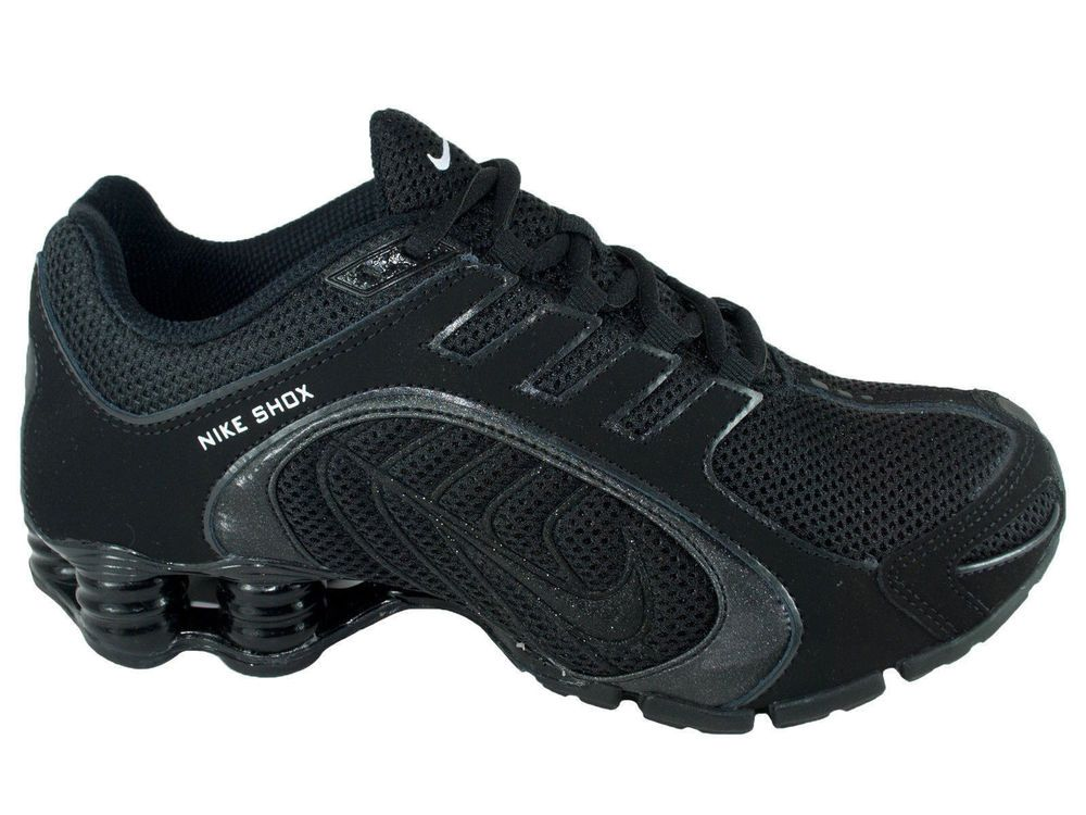 514da10f644 ... authentic new womens nike shox navina si running shoes trainers black  6c296 6c50e