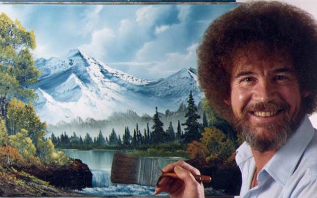 Bob Ross was an American painter born on the 29th October, 1942. He died at the age of 53 in the year 1995.