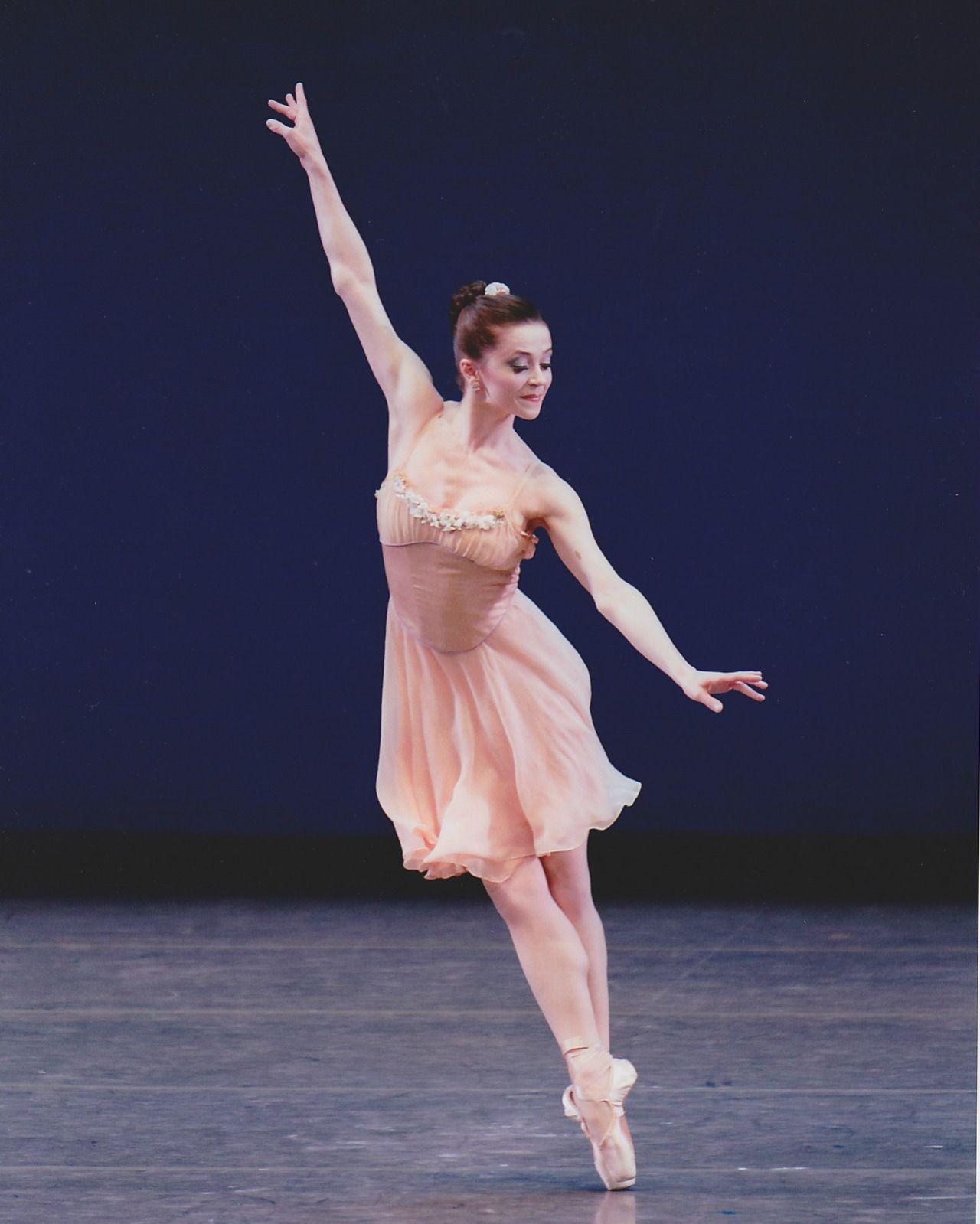 Megan Fairchild on Tchaikovksy Pas De Deux Dance photos