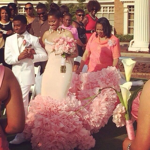 Dress by Reco Chapple | African american brides | Pinterest ...