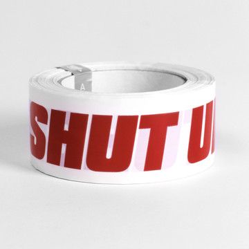 Shut Up Tape - from ATYPYK - a French design studio that doesn't take itself or anyone else too seriously -