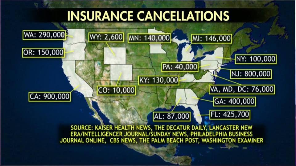 Insurance cancellations so far health insurance plans