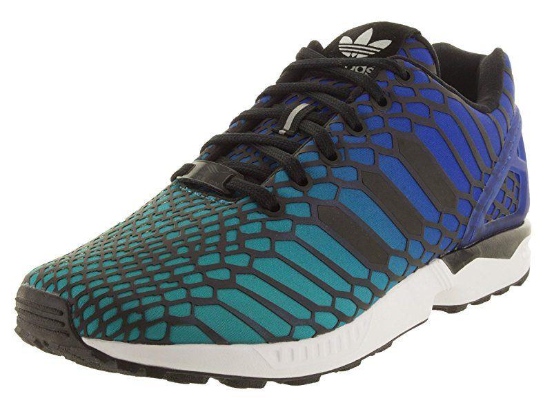 Adidas Zx Flux Shogrn cblack ftwwht Laufschuh 10 Us