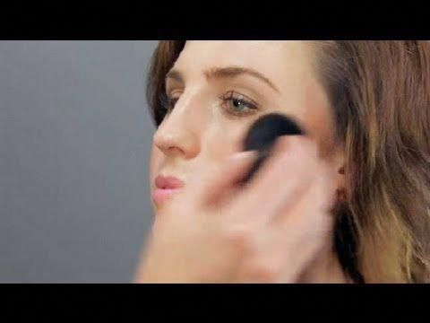 how to use a kabuki brush  makeup tool guides  youtube