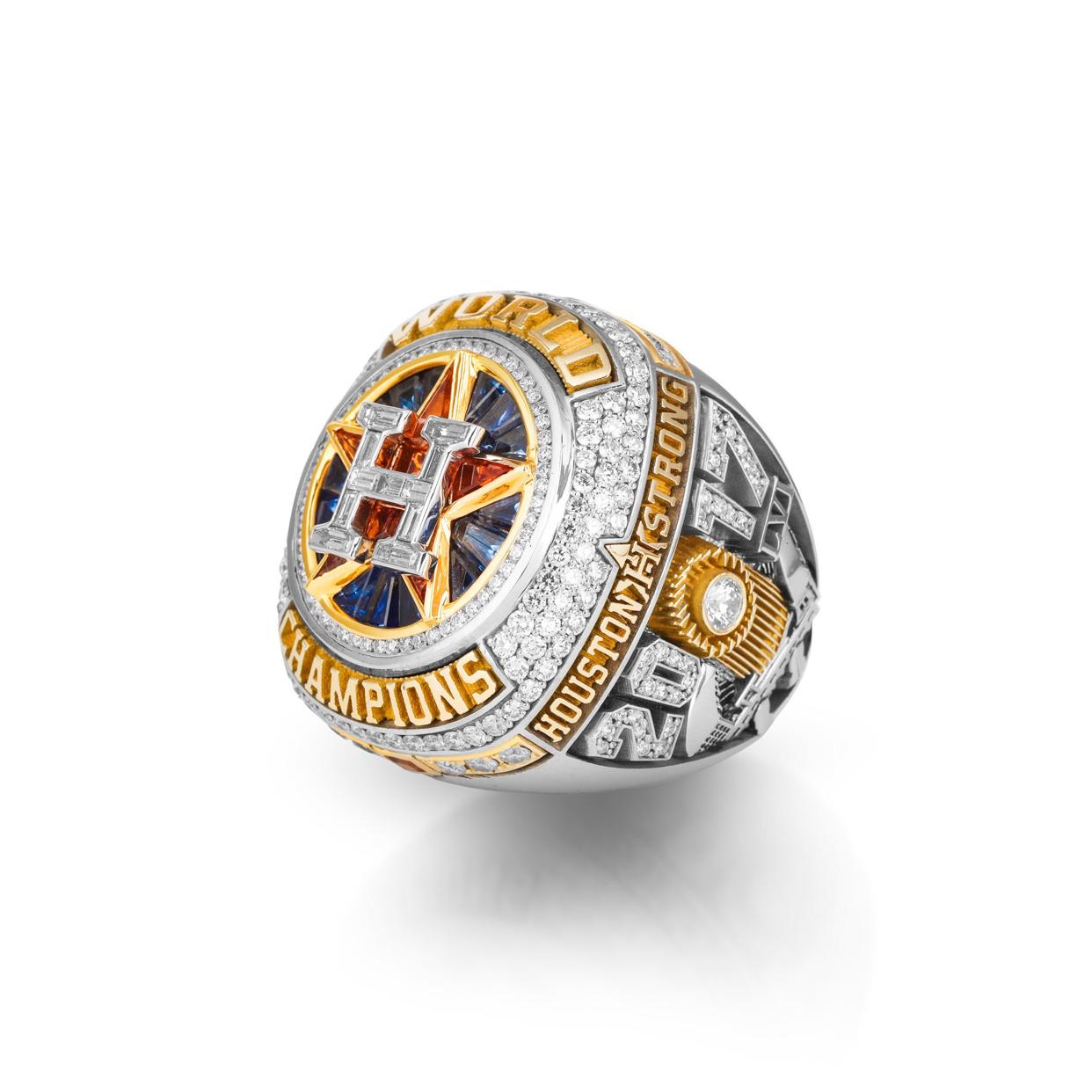 2017 Houston Astros Mlb World Series Champions Ring Championship Rings Astros World Series Nfl Championship Rings
