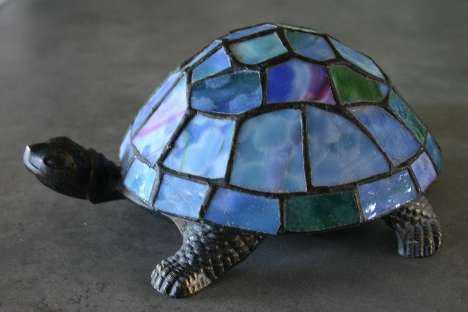 Stained Gl Turtle Lamp Lighting And Ceiling Fans