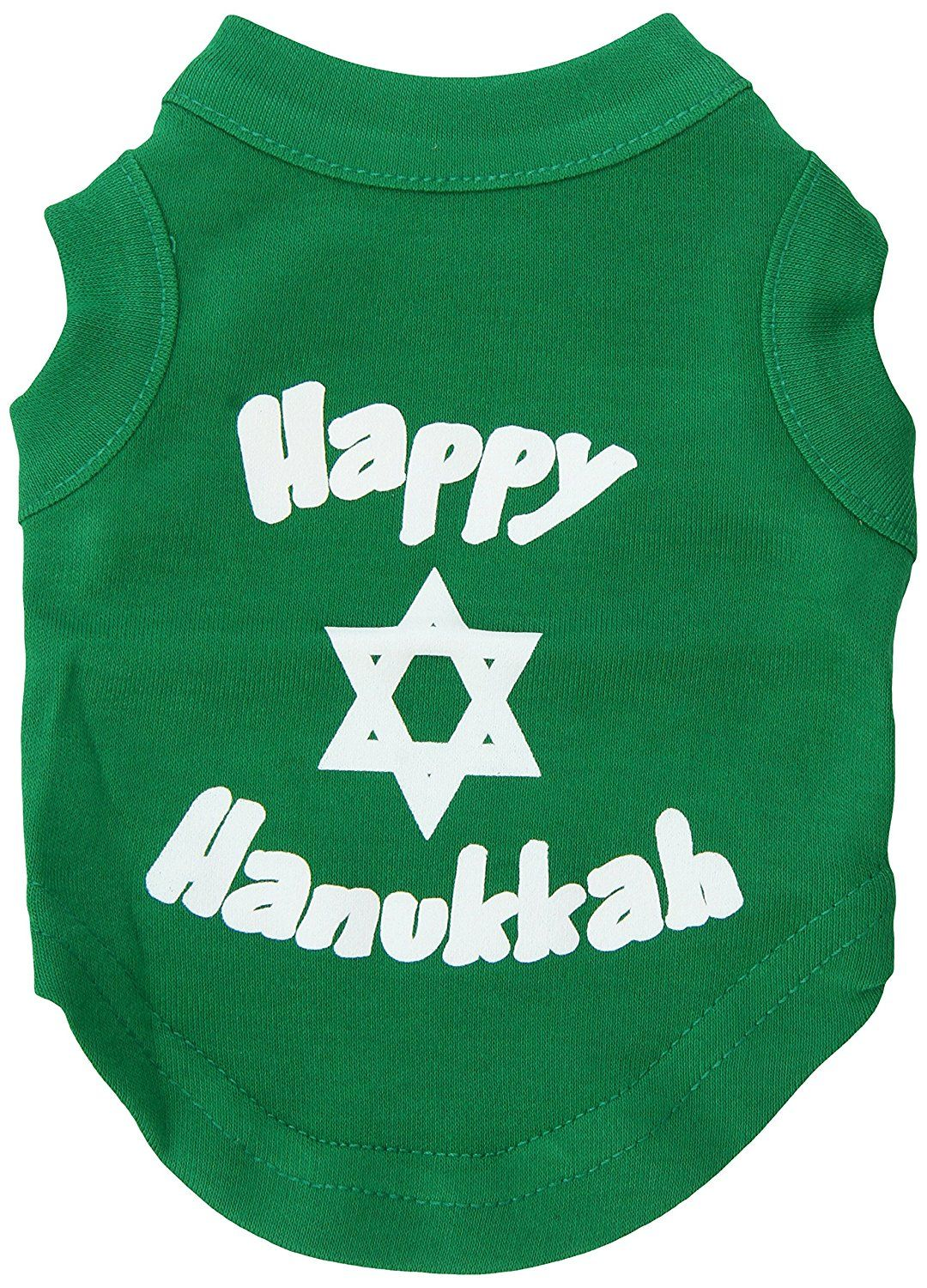 Mirage cat Products 8 Inch Happy Hanukkah Screen Print Shirts for