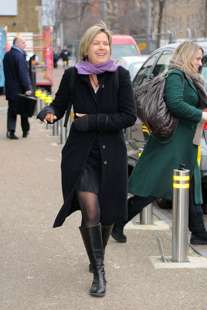 Penny Smith Photos Photos: Bernie Nolan Leaves GMTV Studios