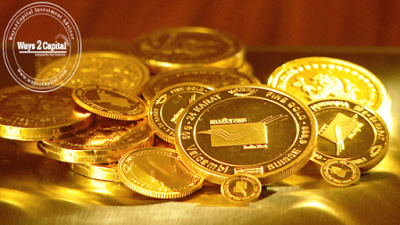 Gold futures closed lower in the domestic market on Monday as the dollar flexed its strength against most major currencies and U.S. equities gained, dulling the appeal of the precious metal in the short term.