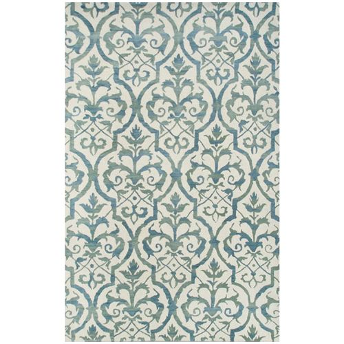 Julia Wong Trellis Rug in Blue from PoshTots
