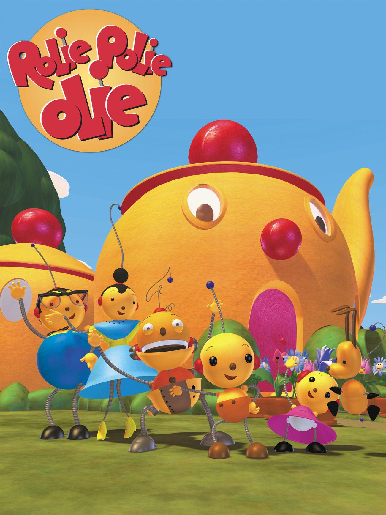 Disneys rolie polie olie childhood tv shows