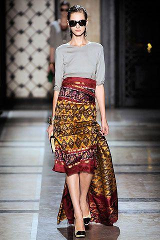 Jupe longue style ethnique by Dries Van Noten