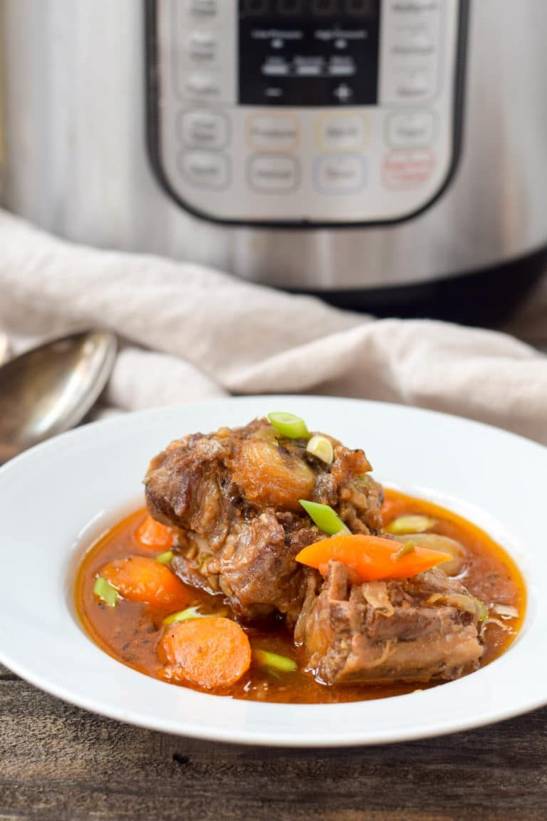 instant pot oxtail stew  west of the loop  recipes