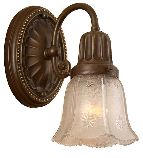 Circa 1920 Wall Sconce Fixture From Turn Of The Century Lighting Craftsman House Bungalow Design Victorian Homes