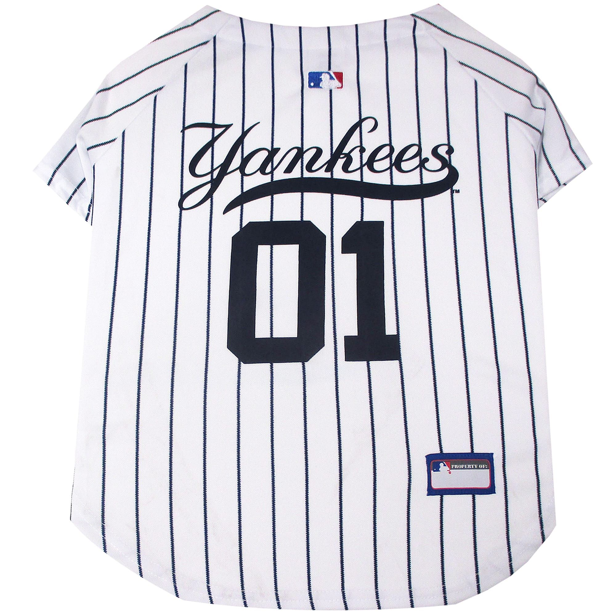 Pets First New York Yankees Jersey Large In 2020 New York Yankees New York Yankees Baseball Mlb