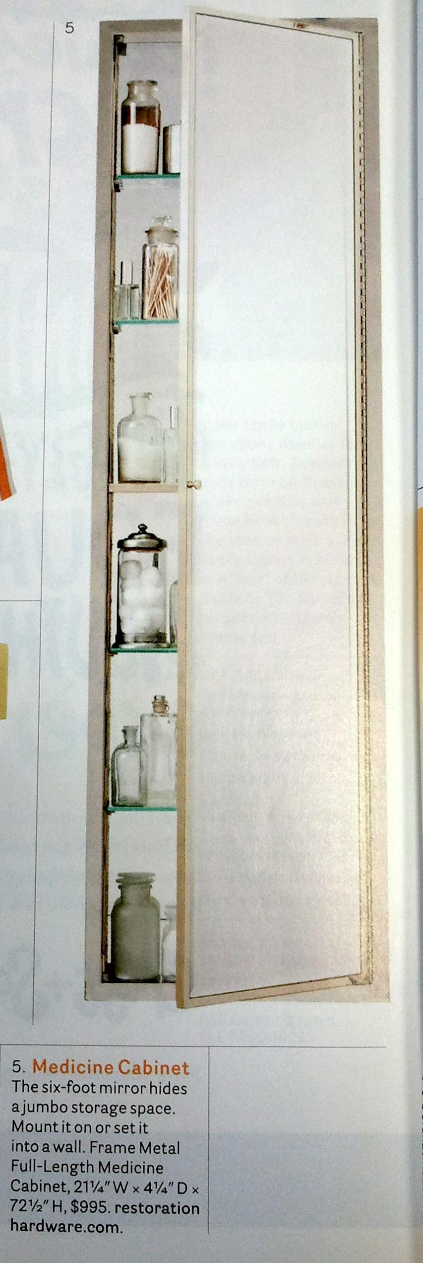 steel mirror with corner polished open popen medicine restoration stainless cabinet kugler hardware