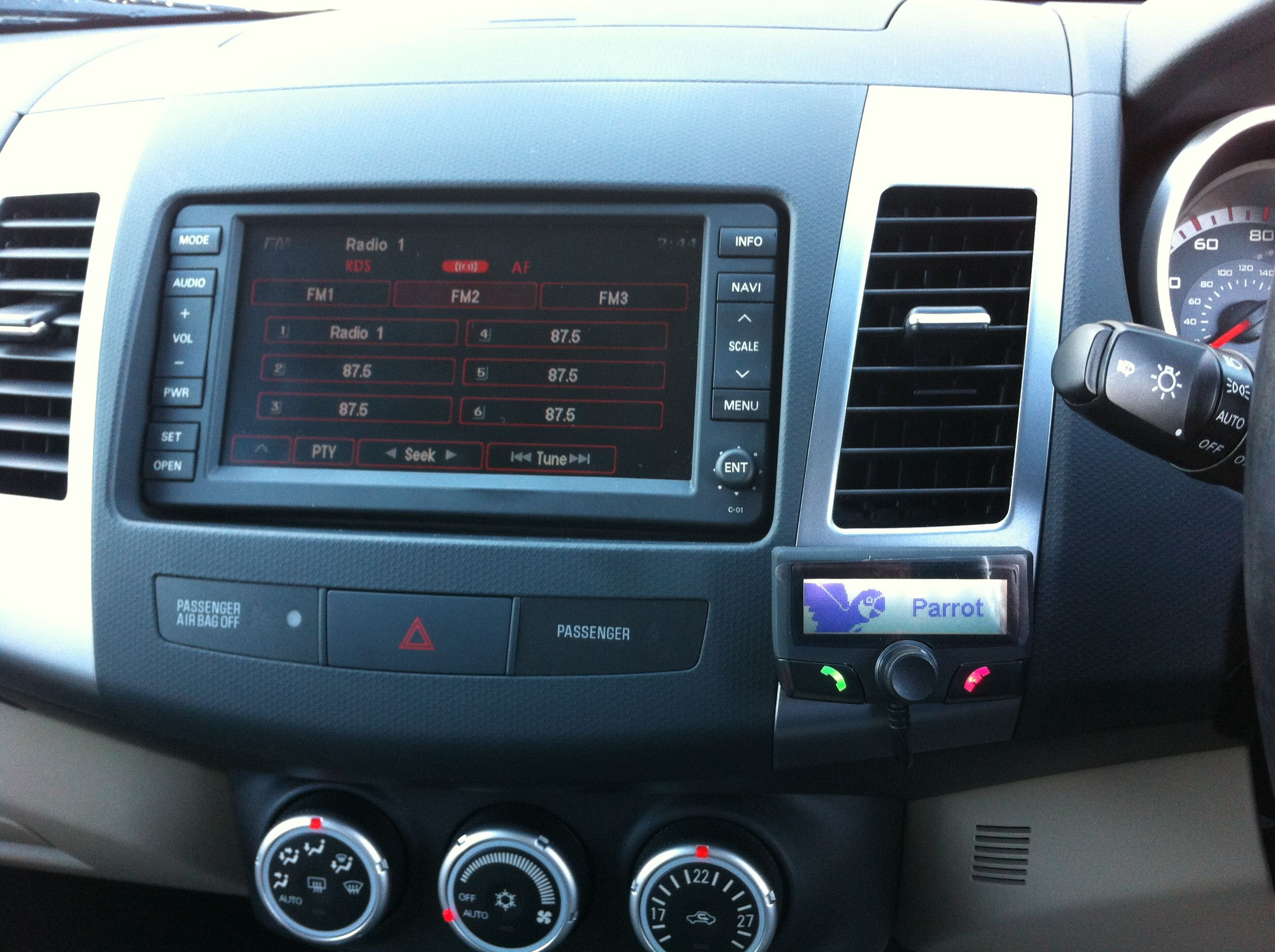 The Parrot CK3100 installed in a Citreon c3 by Connect Mobile This ...