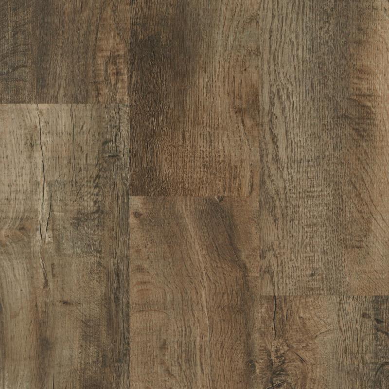 Ivc Distressed Barn Oak 8 Quot Waterproof Luxury Vinyl Plank