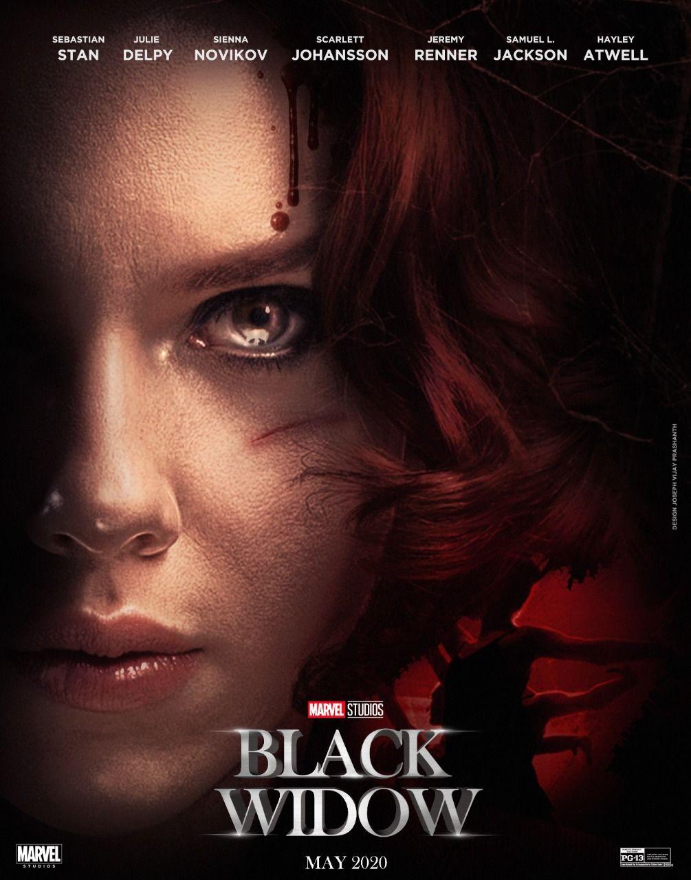 Black Widow Movie Poster Design Phase4 Marvel