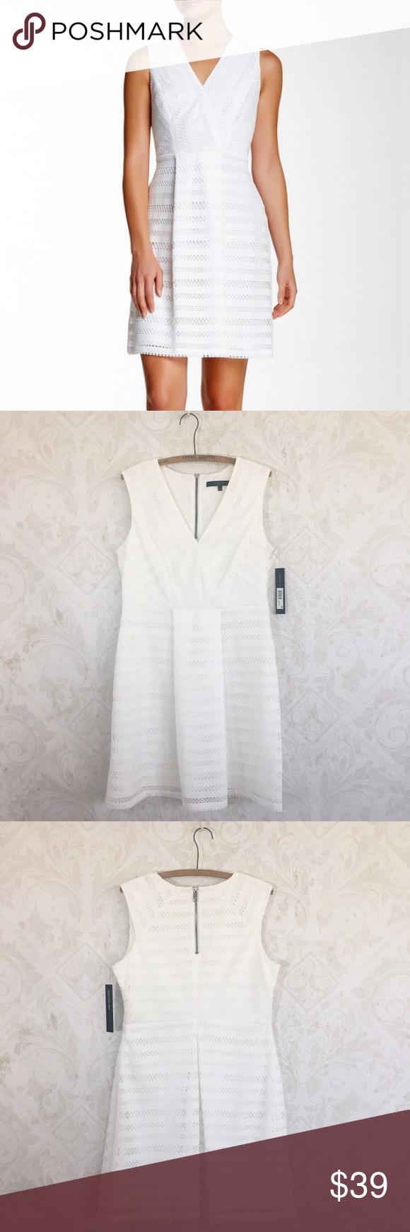 Sold marc new york ivory fit u flare dress nwt flare feminine
