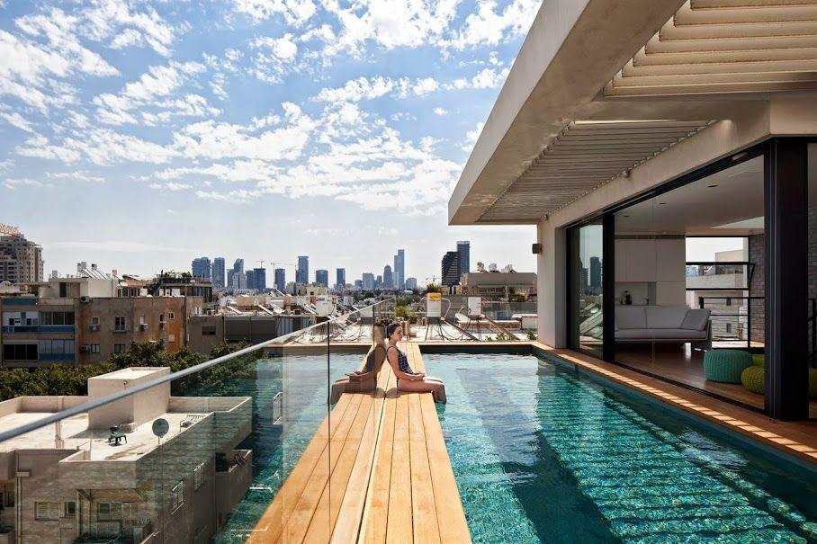 Tel Aviv Town House 1 by Pitsou Kedem Architect.