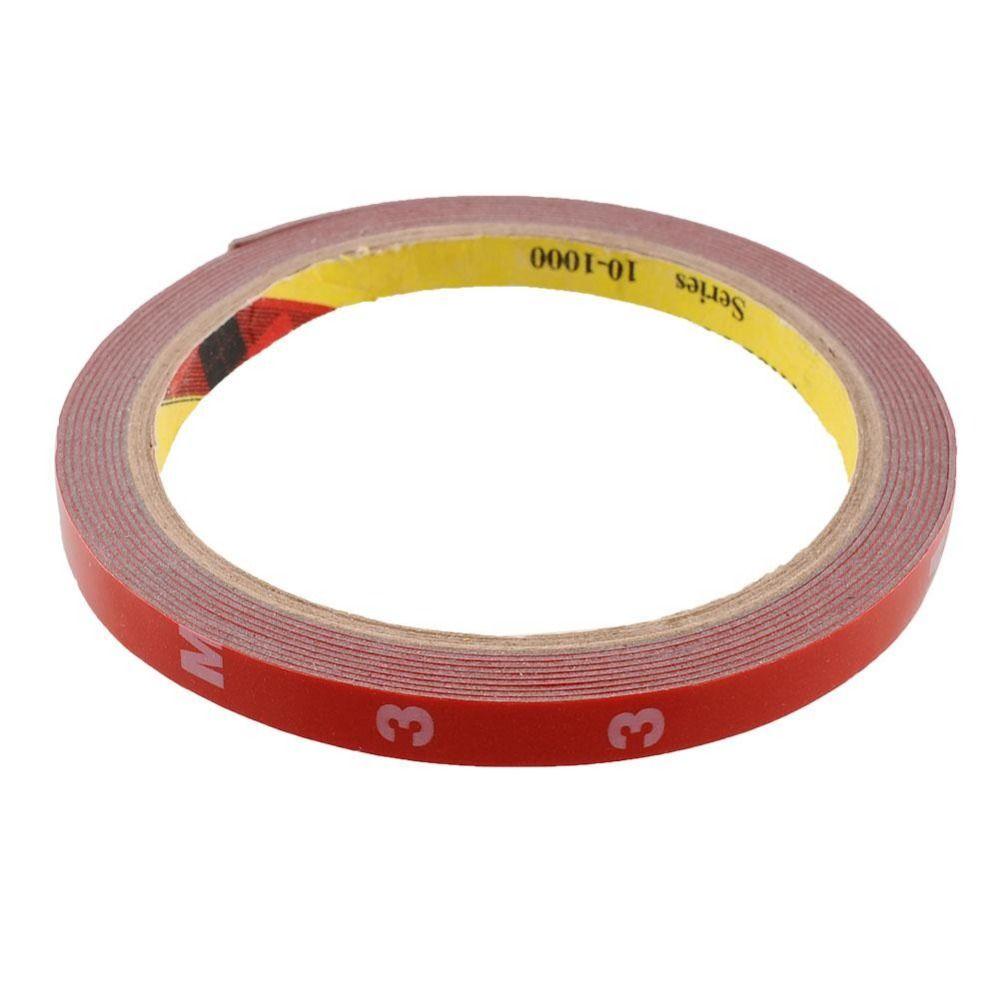 Nueva Multifuncion Fuerte 8mm Delgada 3 M Cinta Adhesiva De Doble