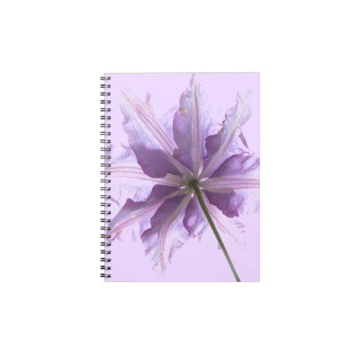 Beautiful Purple Clematis Journals / Notebooks