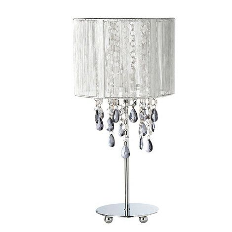 Star by julien macdonald silver jewel bead table lamp at debenhams star by julien macdonald silver jewel bead table lamp aloadofball Choice Image