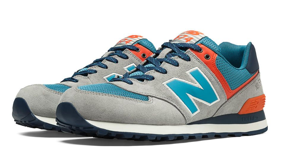 Popular on college campuses and on the streets of large cities along the  East coast, the Out East 574 combines classic New Balance styling with  fresh ...