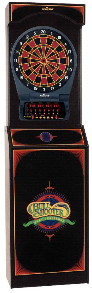 Arachnid Bull Shooter Arcade Cabinet/Electronic Dart Board   Electronic  Dart Boards
