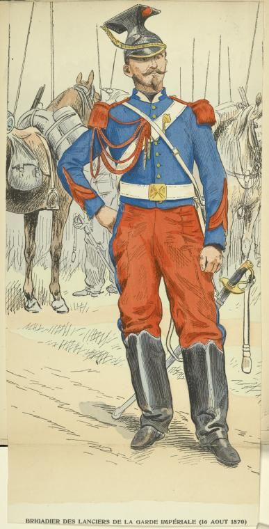 French Lancer 2nd Empire French Army Historical Warriors French Empire