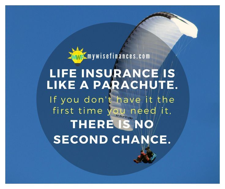 No insurance company is going to let you buy life