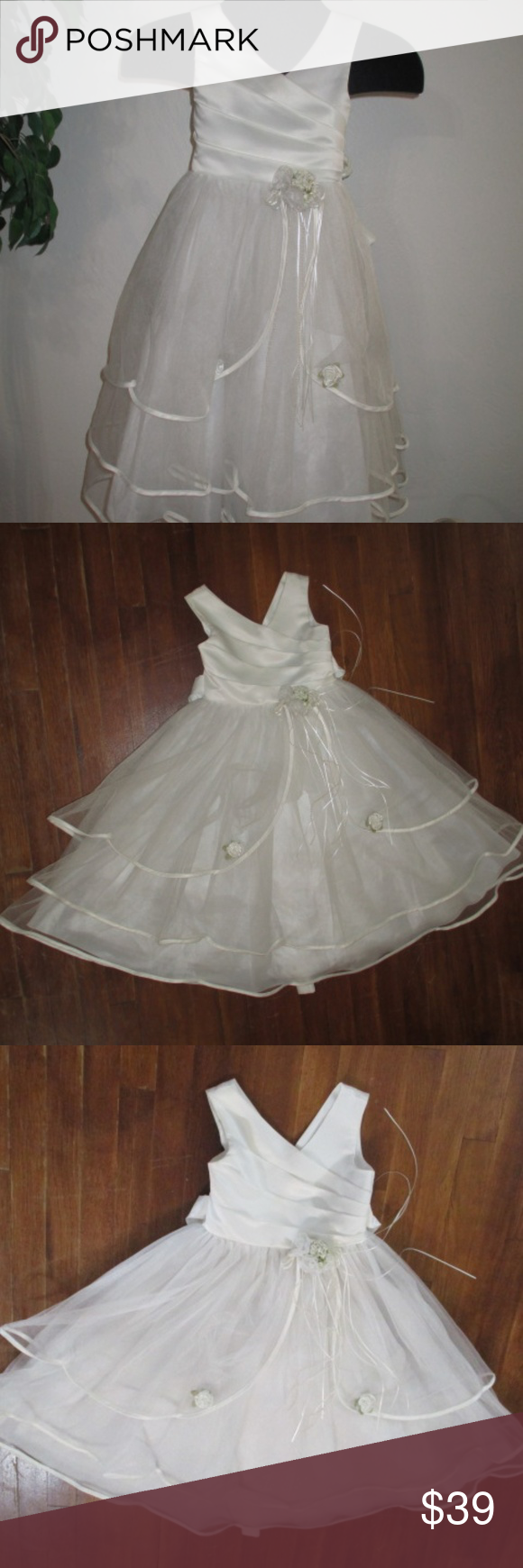2d2f0f5f49fb Cinderella Vintage Flower girl 1st Communion Dress No offers thank you.  Vintage- made in