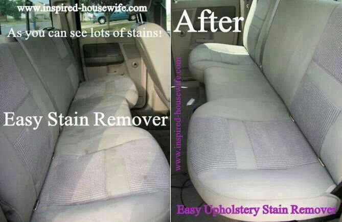 Steam Clean Car Seats >> How To Clean Car Upholstery Car Cleaning Cleaning Car