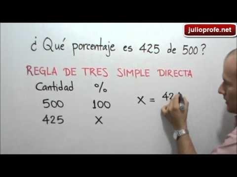 Ejercicio 2 De Porcentajes Julio Rios Explica El Siguiente Ejercicio Qué Porcentaje Es 4 Porcentajes Matematicas Educacion Matematicas Funciones Matematicas