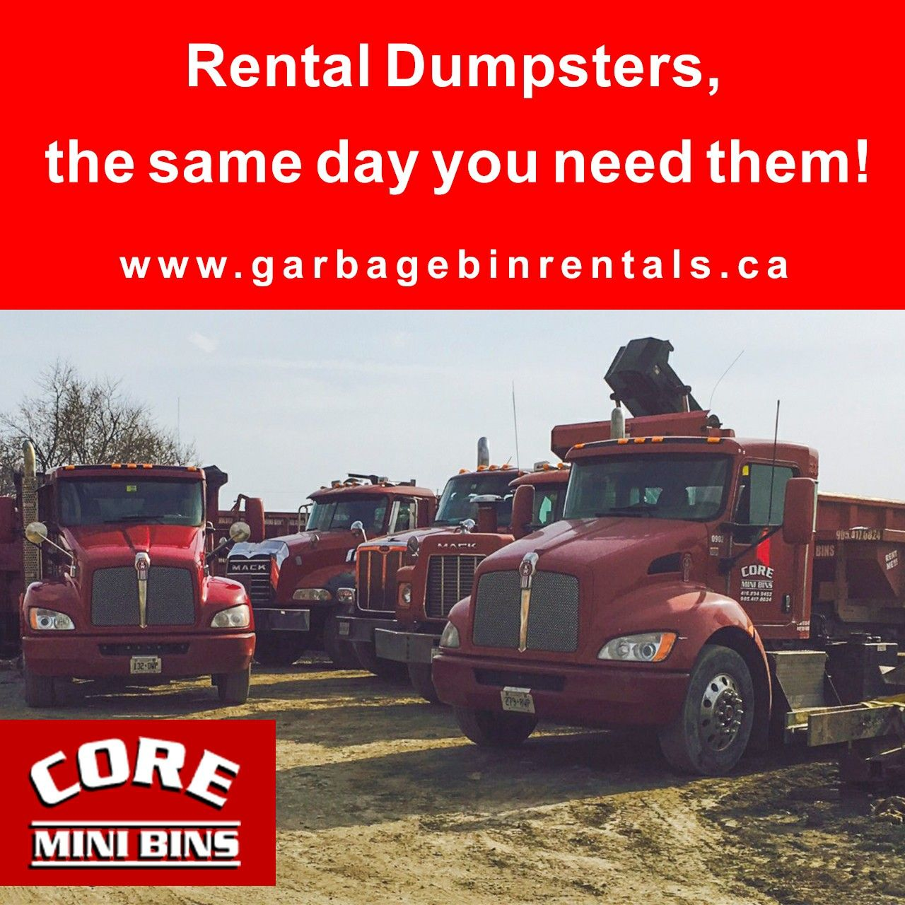 Here at Core Mini Bins, Mini Bins is right in the name. We