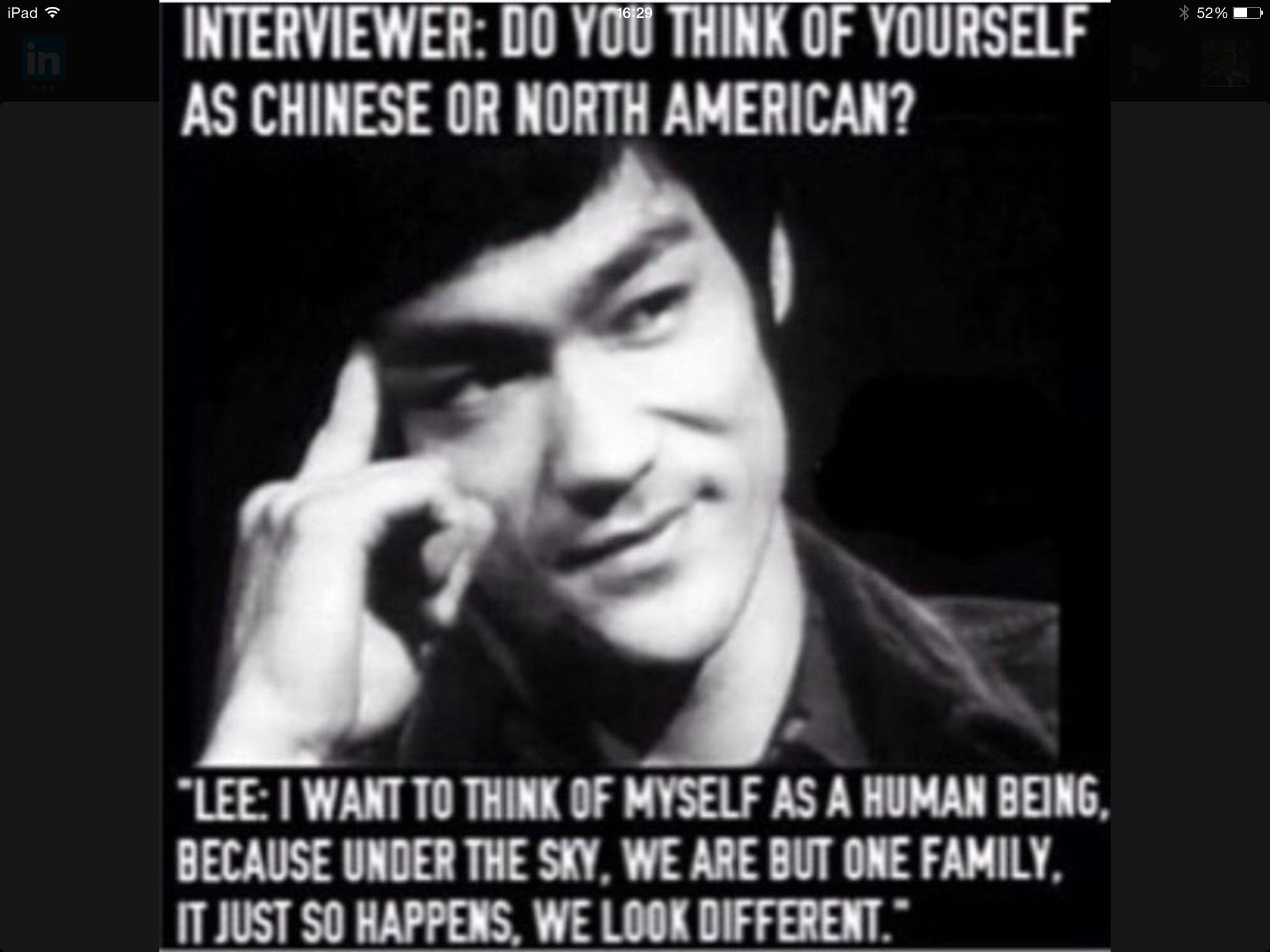 Bruce Lee quotes.