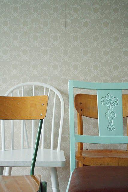 fine stoler med fin farge