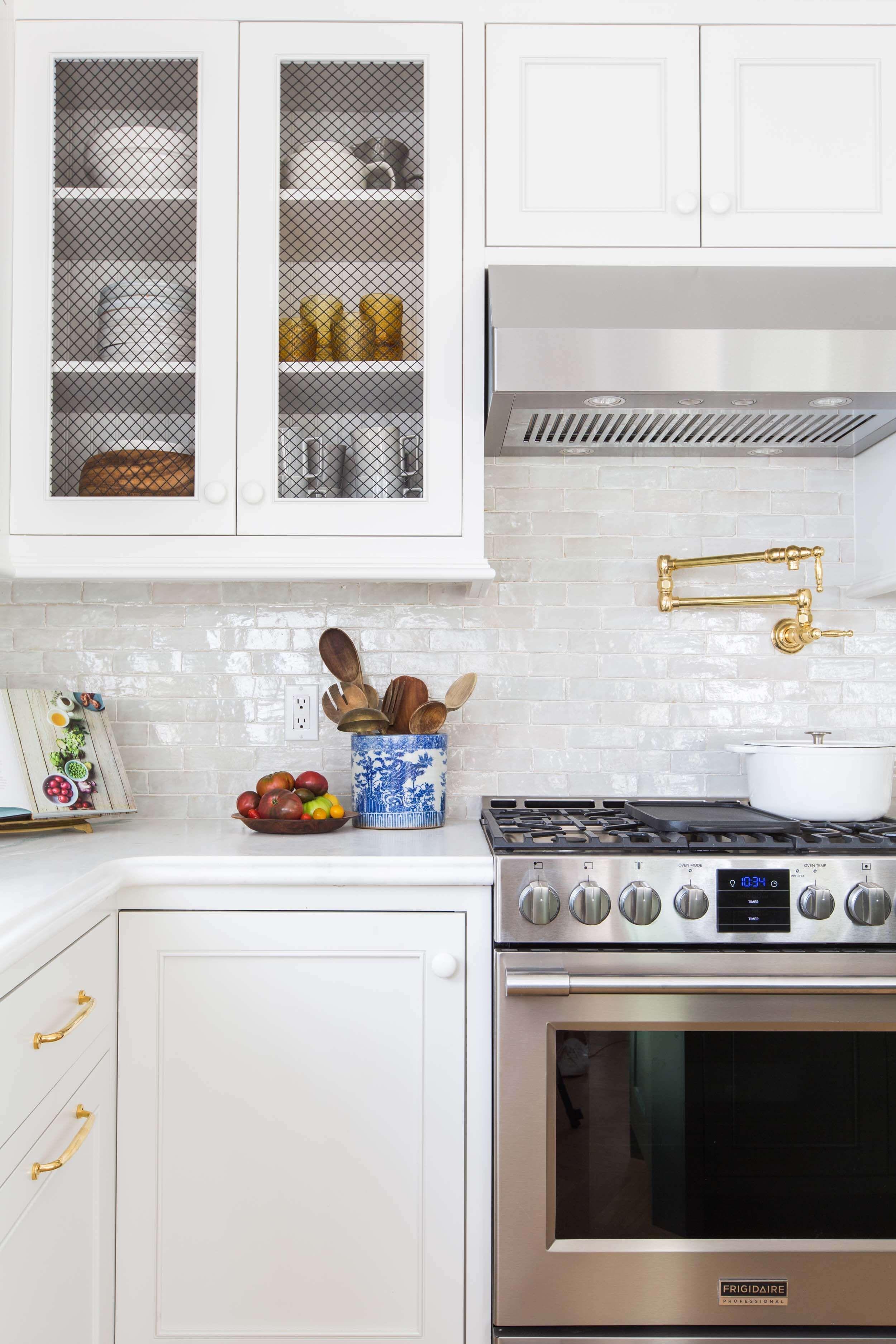 Our Modern English Country Kitchen Emily Henderson Kitchen Backsplash Trends Kitchen Remodel Rustic Kitchen
