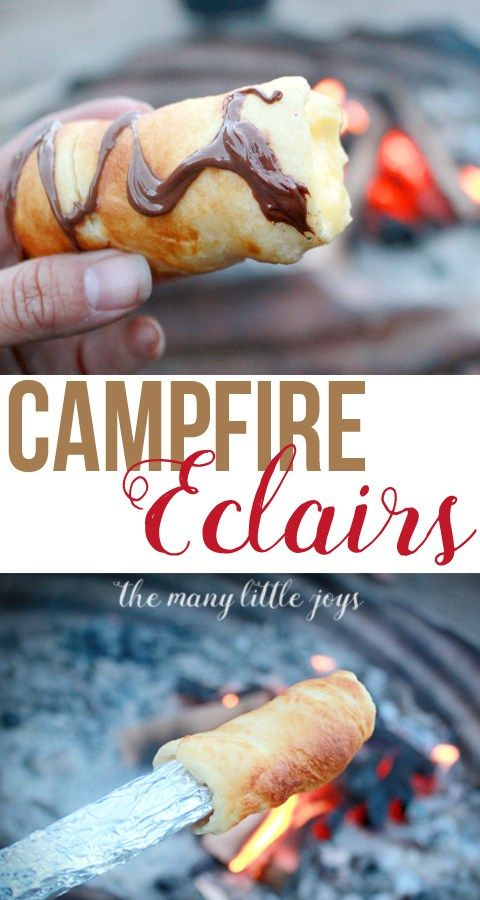 The Best Campfire Dessert EVER Eclairs