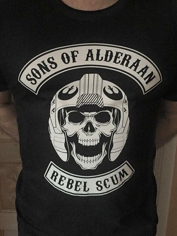 be917390301 Sons of Alderaan Star Wars inspired T Shirt by DSDTee on Etsy